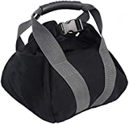 Fairylove Canvas Weightlifting Sandbag, Adjustable Weight Kettlebell Sandbag, Soft Fitness Power Sand Bag Free