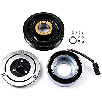 SCITOO AC Compressor Clutches Repair Set CO 11200C Auto Compressor Clutch Assembly Kit for Nissan Rouge 2008-2013