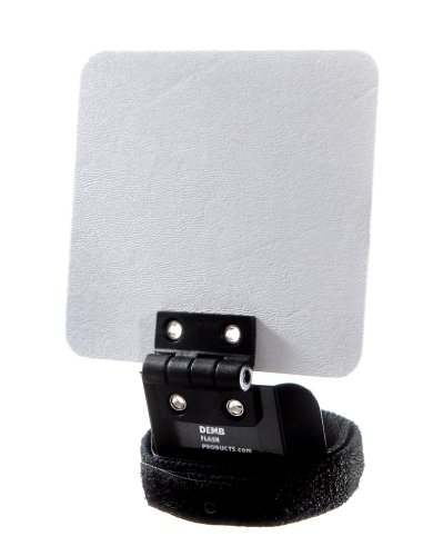 Demb Classic Flip-it! - Articulating Flash Reflector, 4 ¼'' X 4''. Controls Proportion Between Ceiling Bounce and Reflector Bounce. by Demb Flash Products