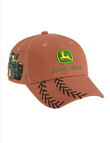 John Deere YOUTH Brown Heavy Canvas Tractor Tracks ()