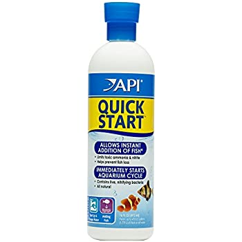 API QUICK START Freshwater and Saltwater Aquarium Nitrifying Bacteria 16-Ounce Bottle