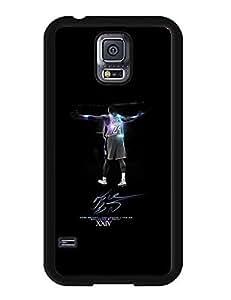 Cheap 7247924M680799113 Customized Kobe Bryant Logo Cartoon Image Galaxy S5 Hard Plastic Case Cover for Samsung Galaxy S5 I9600