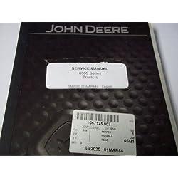 John Deere 8000 Series Tractors SM2030 Service Man
