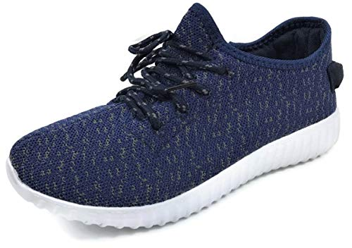- The Collection Jill Womens Athletic Shoes Casual Fashion Breathable Sports Sneakers, Navy Grey, 8.5