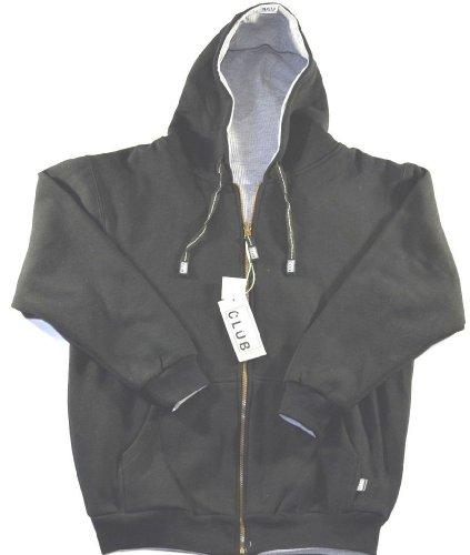 Pro Club Reversible Jacket Hoody Black/grey-medium