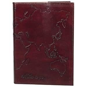 Handmade Leather World Travel Journal - Fair Trade