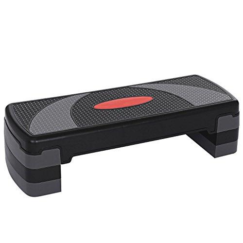 Adjustable Exercise Aerobic Step Platform for Fitness & Sports by evokem
