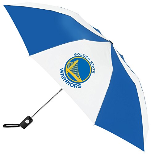 NBA Golden State Warriors Auto Folding Umbrella, Multicolor by WinCraft