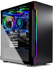 $1749 » SkyTech Shadow 3.0 Gaming Computer PC Desktop - Ryzen 5 3600 6-Core 3.6GHz, RTX 3060 12GB, 1TB SSD, 16GB DDR4 3000, B450 MB, RGB Fans, AC WiFi, 600W Gold PSU, Windows 10 Home 64-bit, Black