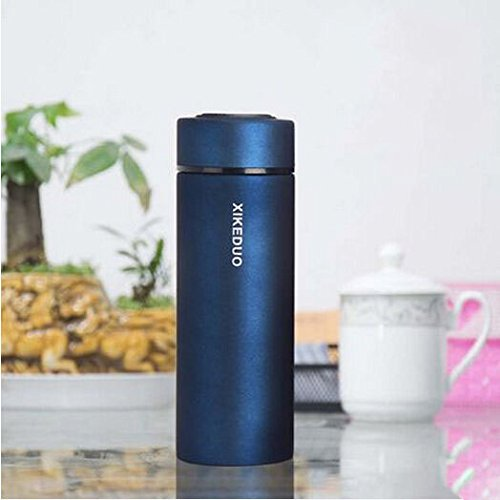 Blue Office Travel Mug Tea Coffee Water Stainless Steel Cup 350Ml by Travel Mugs