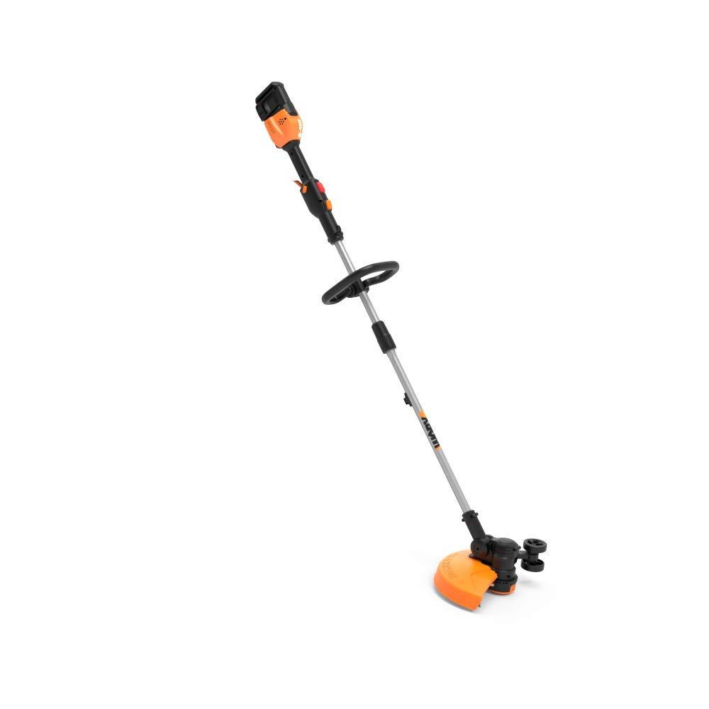 Worx WG184.9 Grass Trimmer, Black and Orange