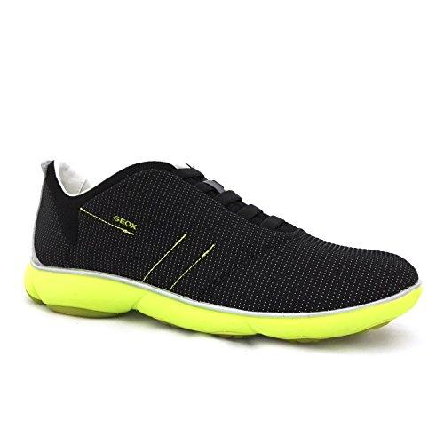 Geox - Zapatillas de Lona para hombre negro negro negro
