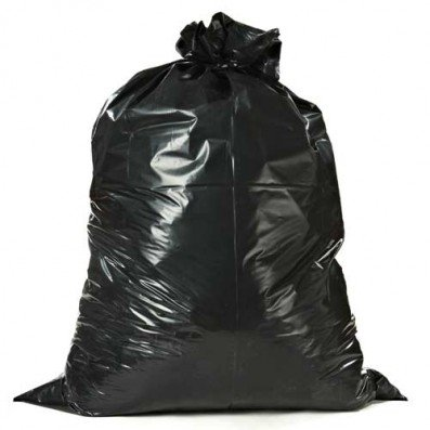 "[해외]Plasticplace 55 Gallon Contractor Bags 검정색 38 ""x 58""4mil 32 / 사례/Plasticplace 55 Gallon Contractor Bags Black 38`` x 58`` 4 Mil 32/Case"