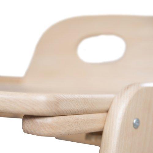 acabado madera natural. Trona evolutiva en madera maciza Roba-Kids 7545