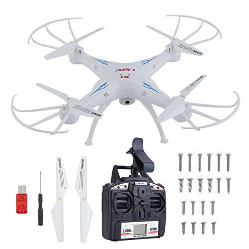 X5SW High Performance Quadcopter Drone Stable Remote Control Helicopter WiFi Pocket Helicopter Real Time Video