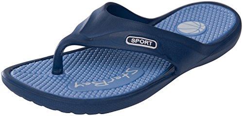 Starbay Flip Flop Comfortable Sandals for Men,Blue,10