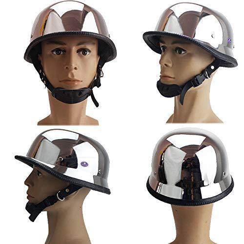 ABN Sicherheitszertifizierung DOT 4 Farben erh/ältlich ECE Mode Harley Motorrad Helm QYHT Sommer Motorrad Retro Helm CNS D,XLL