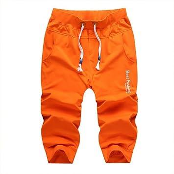 WDDGPZ Pantalones Cortos De Playa/Verano Mens Sueltas Recortadas ...