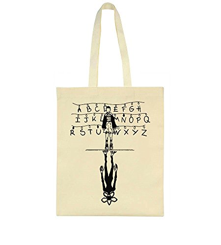 With And Alphabet Lamps Bag Tote Demogorgon Eleven T561xn6q