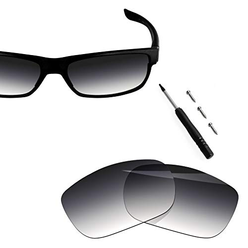 BlazerBuck Anti-salt Polarized Replacement Lenses for Oakley TwoFace OO9189 - Grey Gradient ()