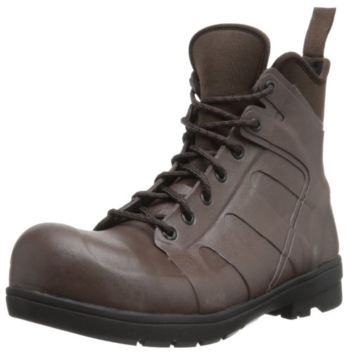 Bogs Mens Turf Stomper ST Waterproof Work Boot Brown