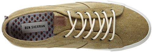 Ben Sherman Mens Jayme Mode Sneaker Khaki