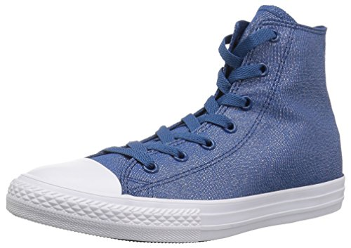 Converse Girls' Chuck Taylor All Star Sneaker, Navy, 3 M US Little - 3 Converse Youth Size