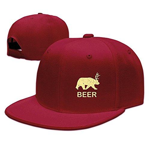 Beer Bear Deer Vintage Cap Youth