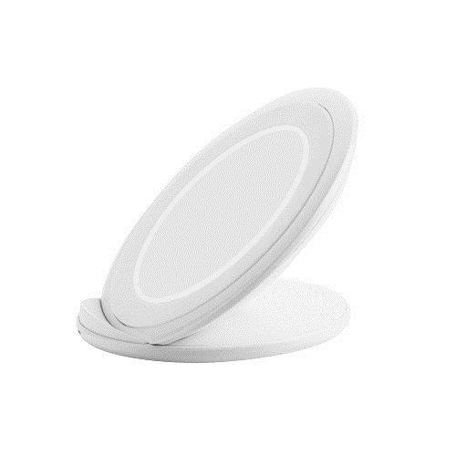 Cargador inalámbrico compacto para Sony Xperia XZ2 Premium, Xperia XZ2, Xperia Z3V, Xperia Z4V, soporte, Blanco