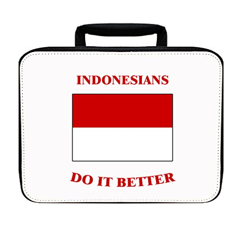 Indonesians Do It Better Indonesia Insulated Lunch Box Bag by Style in Print