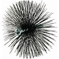 MEECO'S RED DEVIL 30800 8-Inch Round Wire Chimney - Poly Round Brush Chimney
