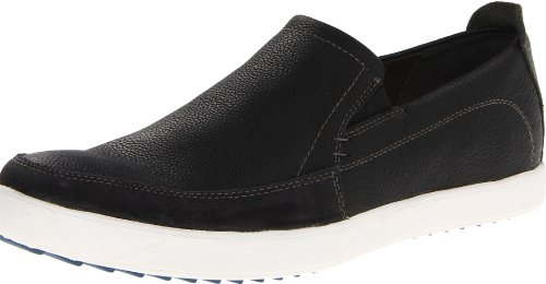 Hush Puppies Heren Bermmt Slip-on Loafer Zwart