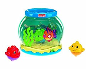 Fisher price ocean wonders musical fishbowl for Fish bowl toy