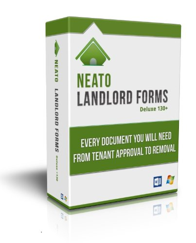 Neato Landlord Forms Deluxe 130+ on CD (Lease Agreement Software)