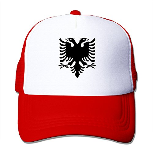 Albanian Double Headed Eagle Trucker Cap With Mesh for sale  Delivered anywhere in Canada