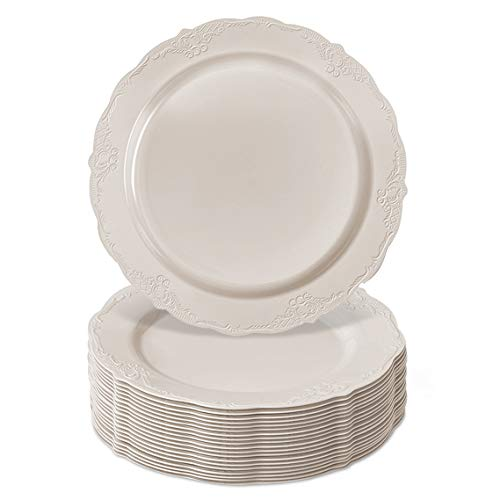 "10.25"" DISPOSABLE DINNERWARE PLATES 