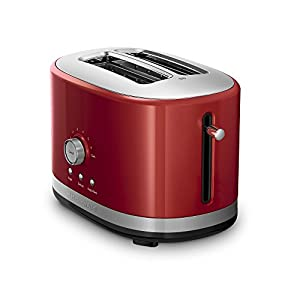 KitchenAid 5KMT2116BER 2 Slice Toaster With High Lift Lever 220 Volts Export Only