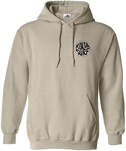 Koloa Brush Logo Hoodies - Pullover Hooded Sweatshirts in Sizes S-5XL