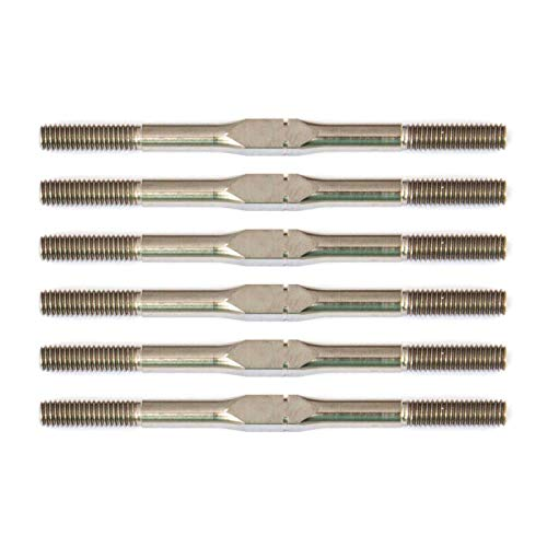(Team Associated FT Titanium Turnbuckle Set, 3x48mm (1.875 in): 10B6.1, ASC91727)