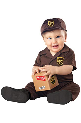 Infant UPS Baby Delivery Costume size 12-18 ()