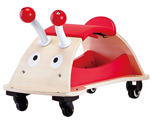 Bicycle Wooden - Award Winning Hape Bug About Kid's Push and Pull Ride On Scooter
