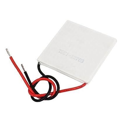 DealMux TEC1-12708 15V 8A termoeléctricos módulo refrigerador refrigerar Placa Peltier
