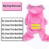 MINHUNG Raincoat Large Dog Pets Waterproof Detachable Rain Jacket (7XL)