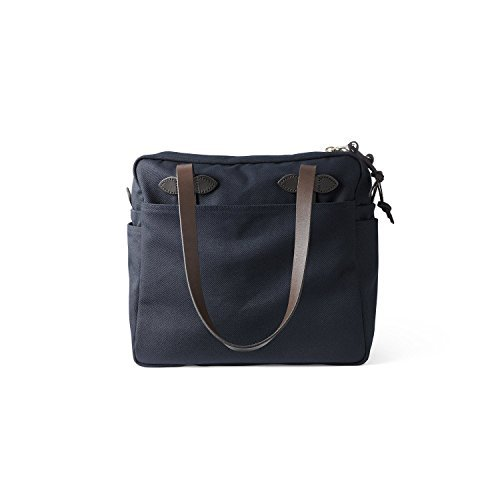 Filson Men's Tote Bag with Zipper, Navy, One Size by Filson