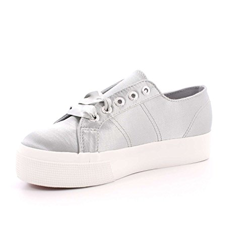 Sneakers Donna Superleghe 2730-satinw In Oro 100% Poliestere Grau