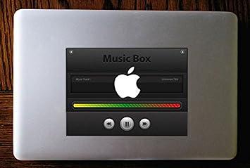 Music Player MP3 MacBook Decal sticker Apple Mac: Amazon ca