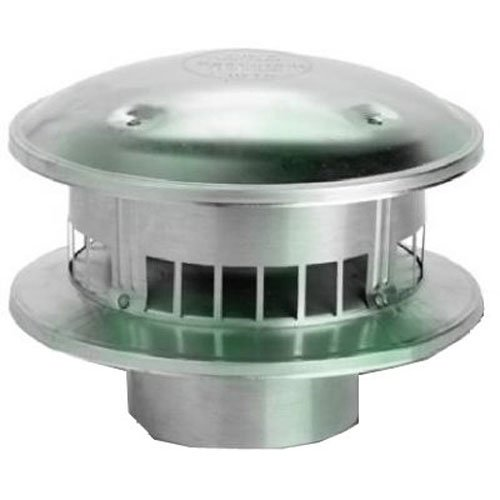 Selkirk Metalbestos 3RV-RT 3-Inch Bird Proof Round - Roof Jensen Vents