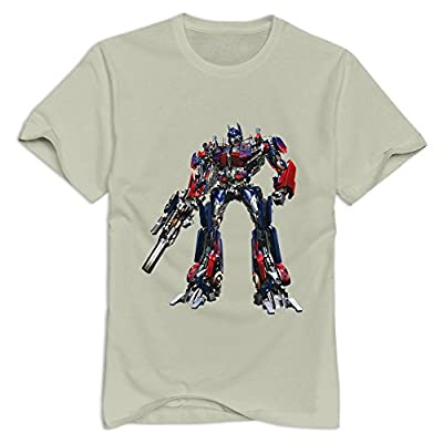 StaBe Man Optimus Prime Transformer T-Shirt Short Sleeve Vintage
