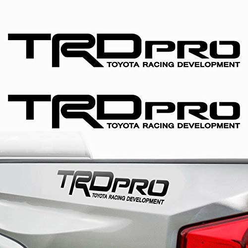 Edwin Group of Companies Toyota TRD Pro Off Road 4x4 Window Decal | Size - 20.25