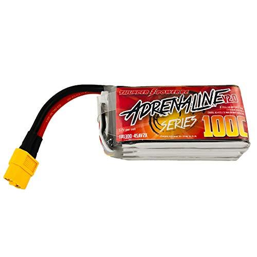 - Thunder Power Adrenaline V2.0 1300mAh 4S 100C Lipo Battery
